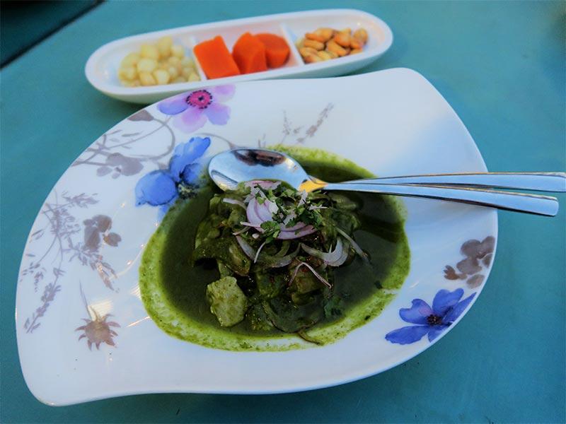 Kion&Sui ceviche de corvina
