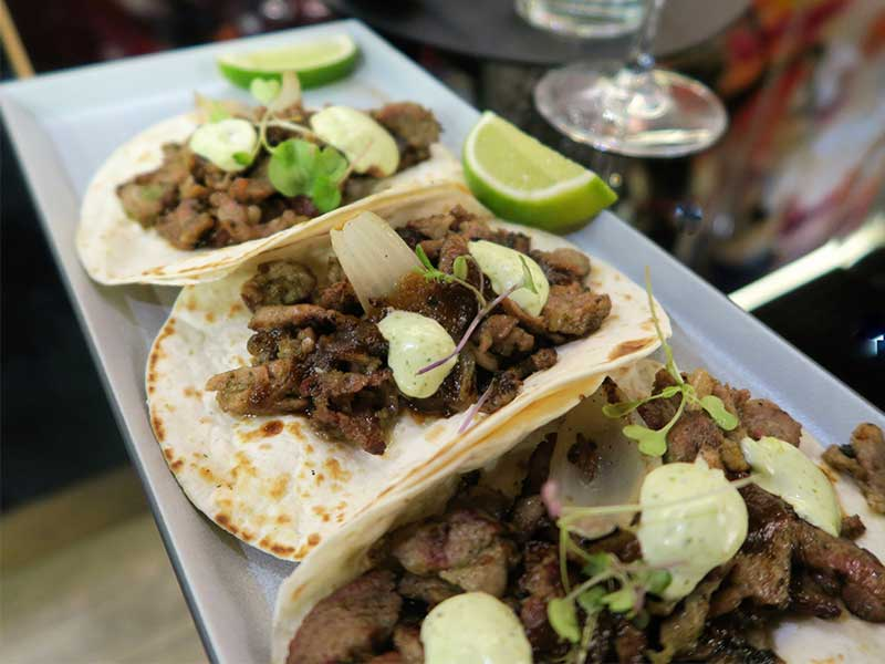 Nueva carta del restaurante Iztac Tacos arabes