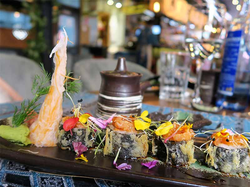 Restaurante Kiboka Tempura Rolls
