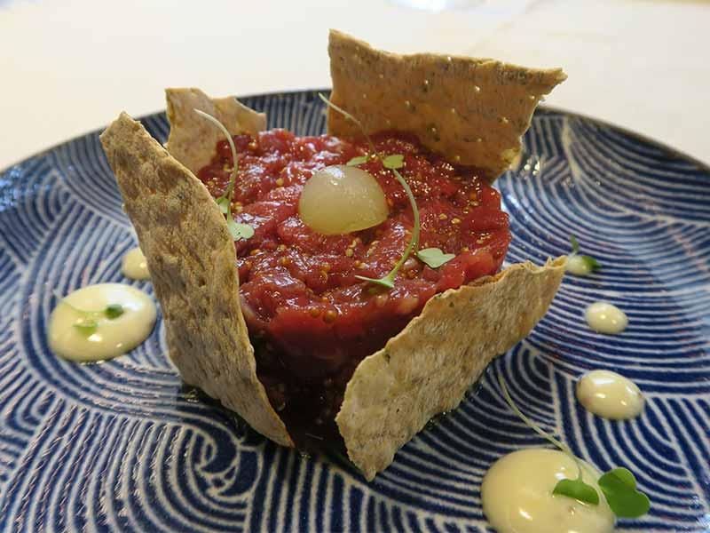 Brunch Hotel Heritage Steak Tartar