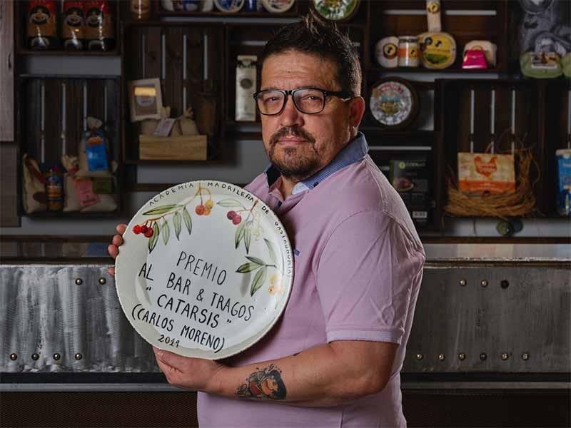 Premios Academia Madrileña de Gastronomía 2019 Carlos Moreno Bares y Tragos