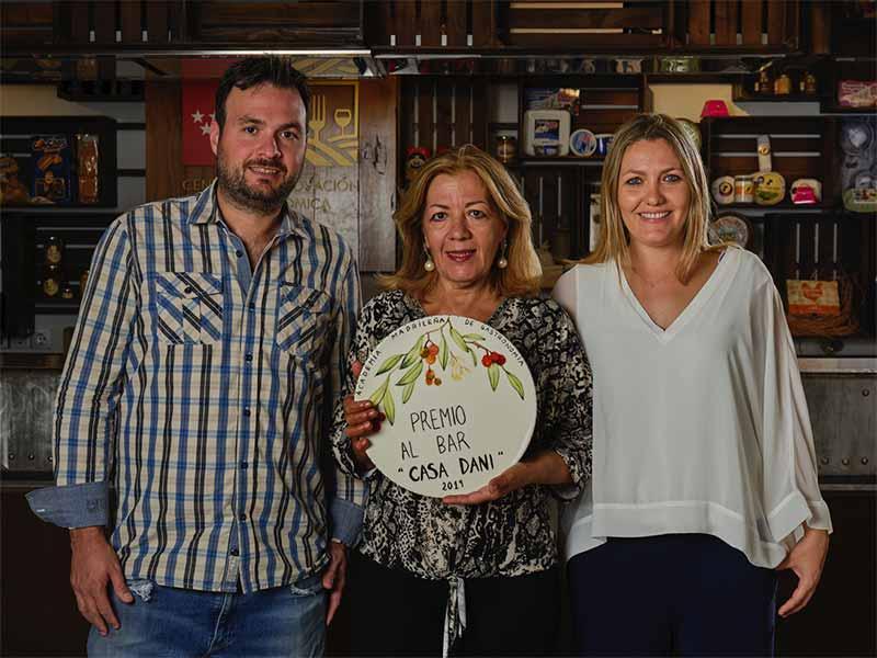 Premios Academia Madrileña de Gastronomía 2019 Casa Dani