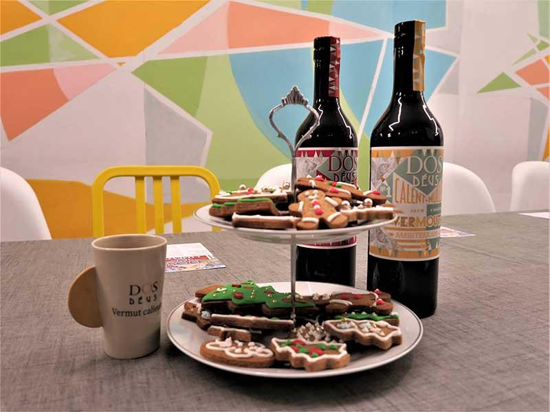 Vermouth caliente Dos Deus Nordic y Mediterranean