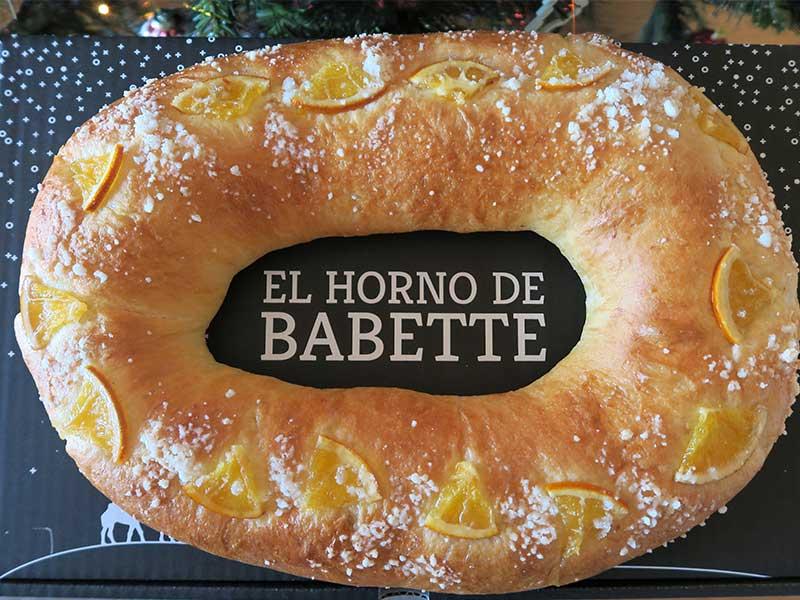 Roscon El Horno de Babette