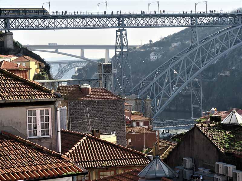 Viajar a Oporto Puente de Don Luis I