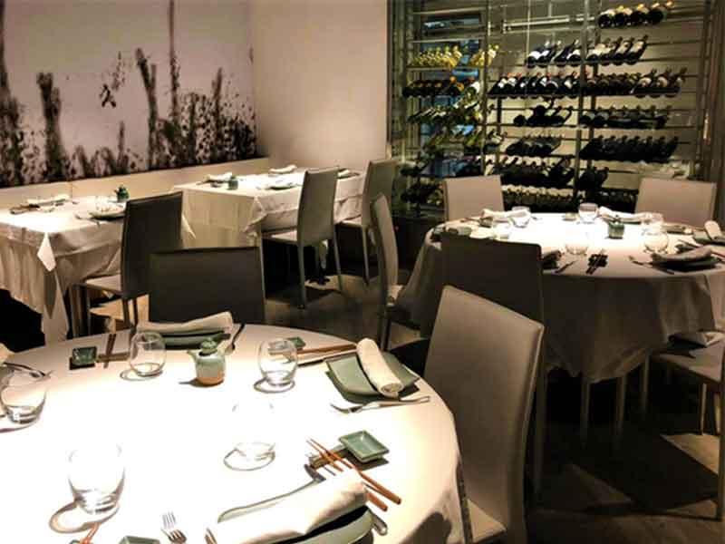 Restaurante Distrito 798 comedor