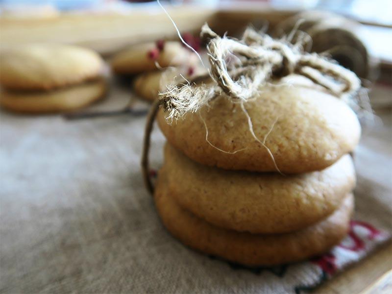 Galletas de mantequilla rusticas