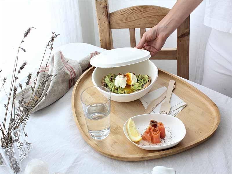 Cookpay vajilla biodegrable y compostable