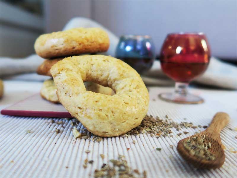 Receta Rosquillas de San Isidro en horno