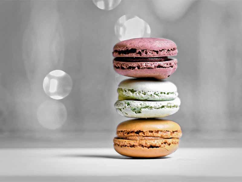 postres más etiquetados en Instagram Macarons