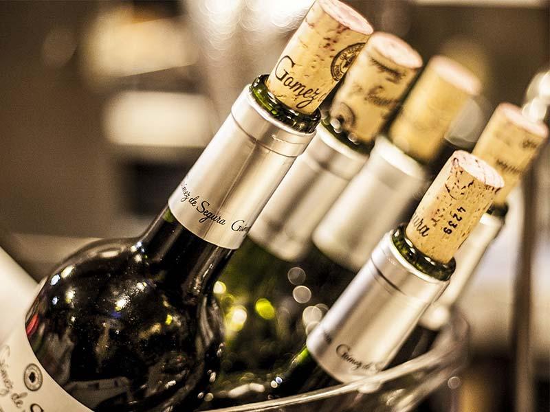 como elegir un vino Botellas