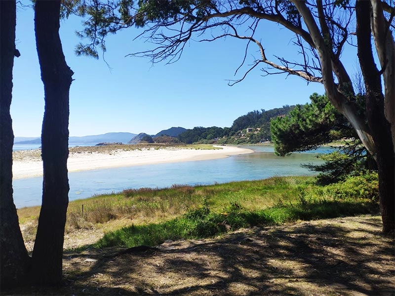 Islas Cies Pontevedra Lago de Cies