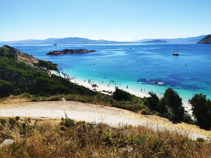 Playa Islas CIes Pontevedra Rias Baixas