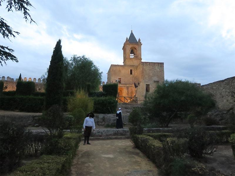 Interior de Malaga Alcazaba de Antequera