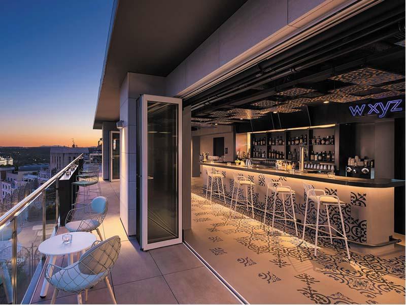 Restaurante XYZW Hotel Aloft Gran Vía