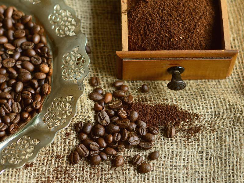 Café a granel molido