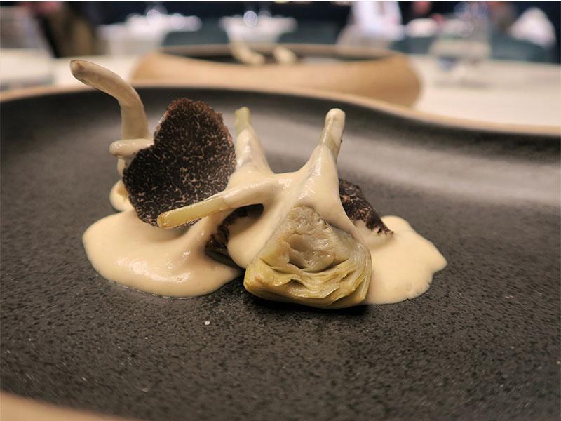 D·Origen Espacio Gourmet Alcachofas con trufa
