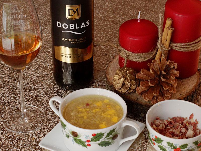 Sopa de Navidad Cena de Nochebuena