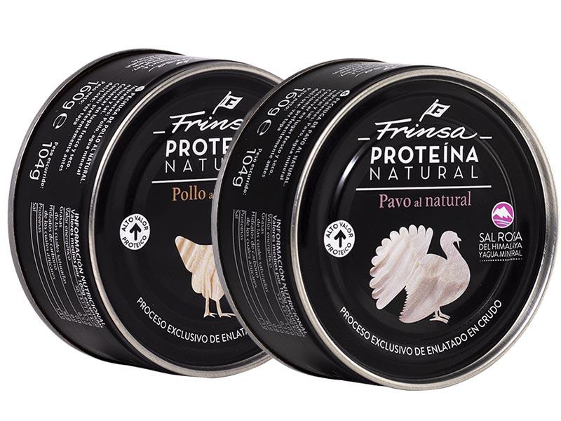 Frinsa proteina animal pollo y pavo