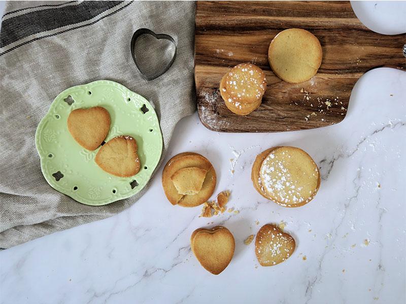 Galletas sin gluten con harina de maiz