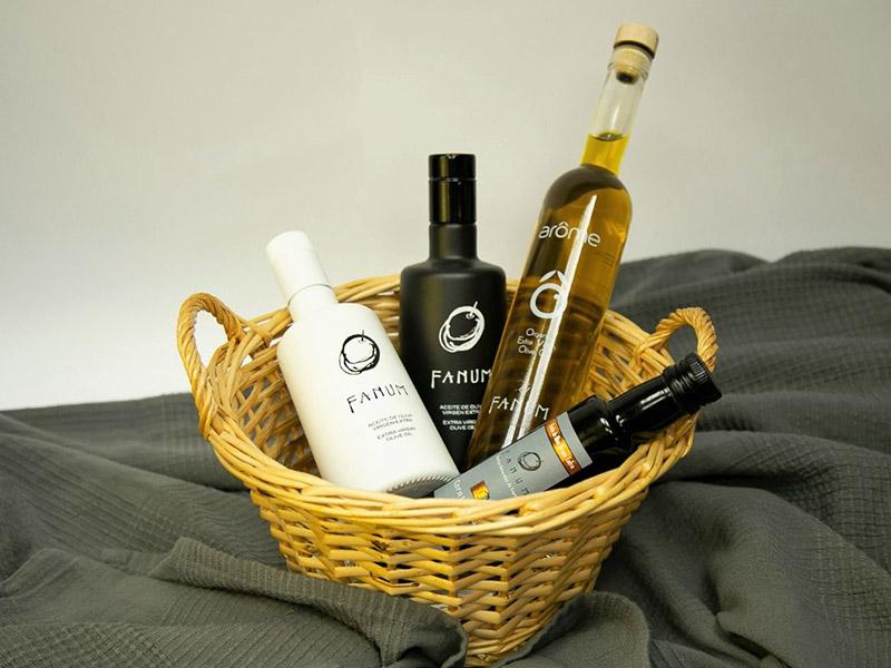 Lote de Aceite de oliva virgen extra Fanum Regalos gourmet para el dia de la madre
