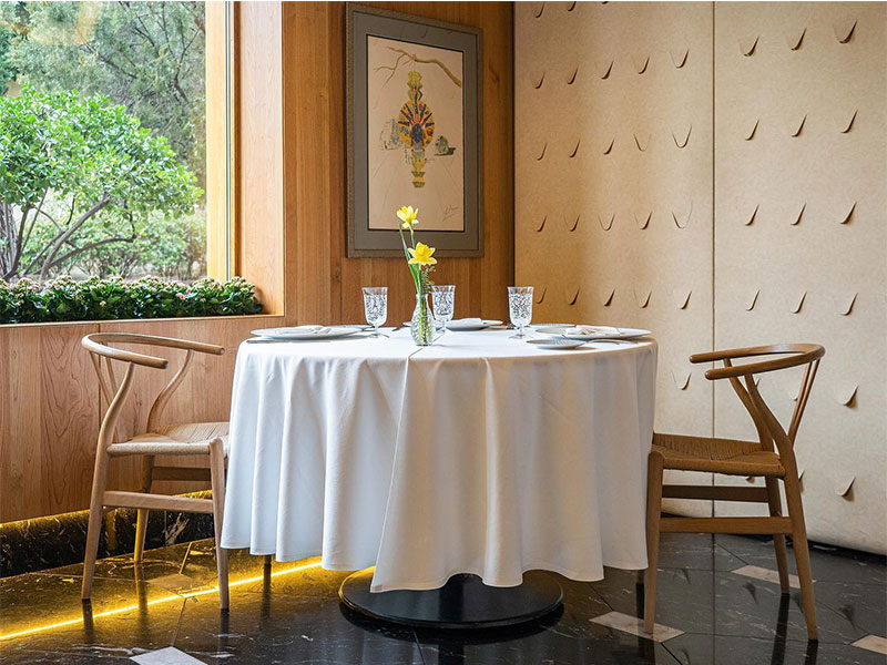 Restaurante A'Barra en Madrid reservado
