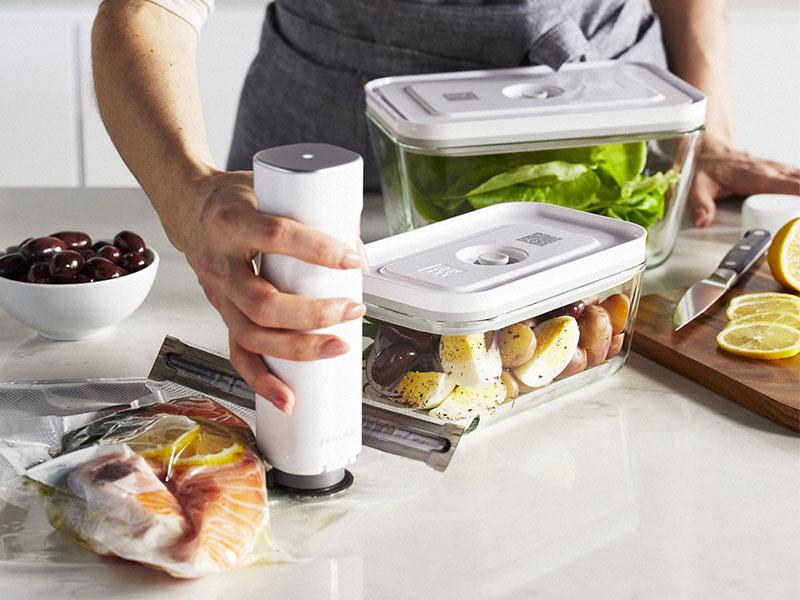 Conservacion de alimentos bomba de vacio Fresh and Save ZWILLING
