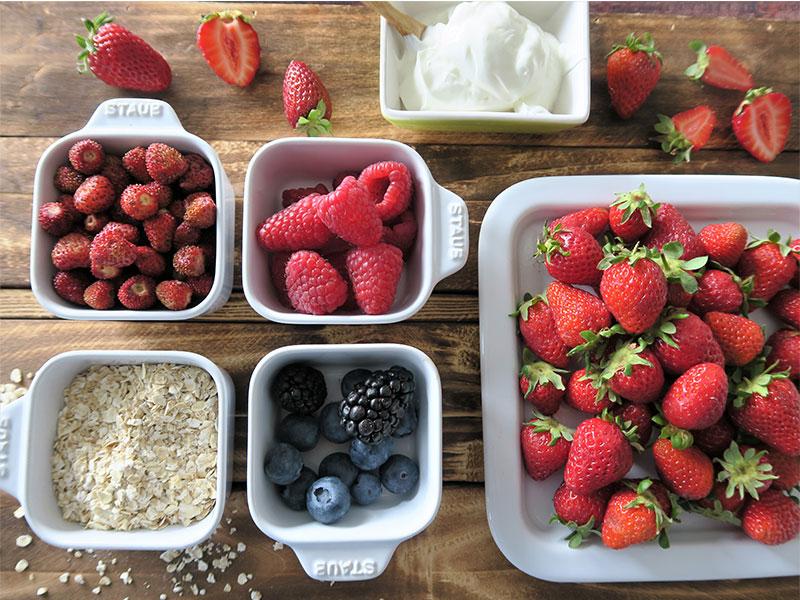 Desayuno saludable frutas La Huerta de Aranjuez