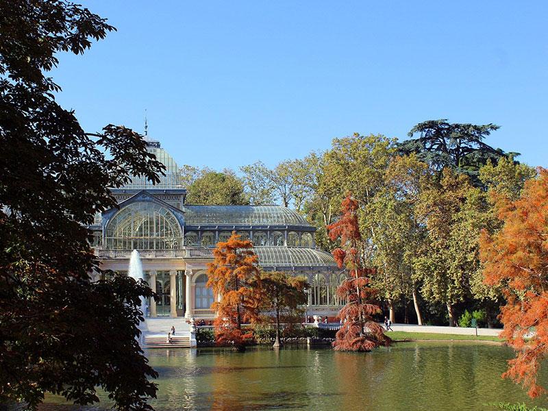 Madrid Patrimonio de la Humanidad Palacio de Cristal