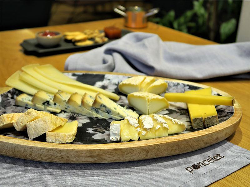Tabla de quesos Poncelet Cheese Bar