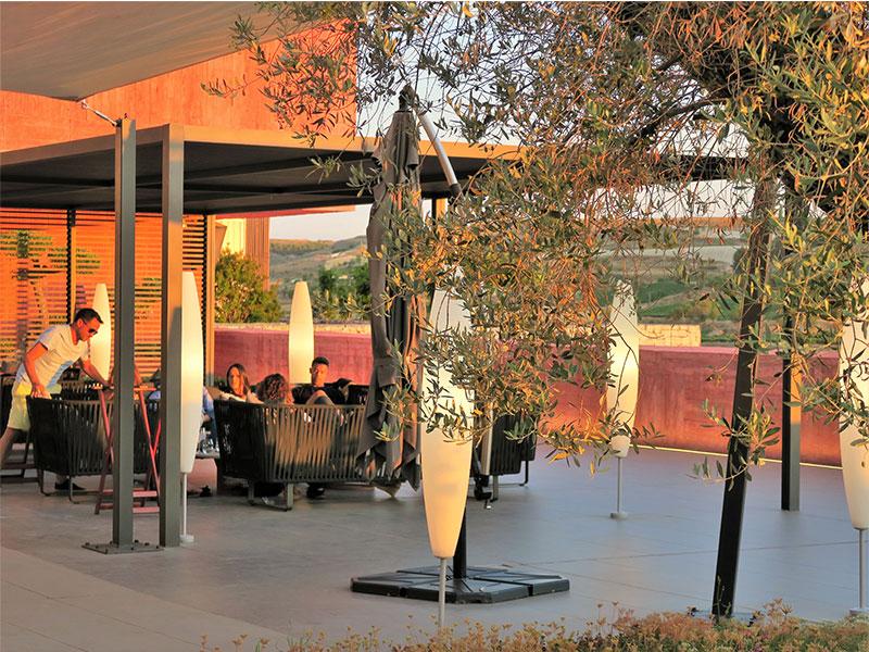 Ambivium Wine Bar terraza