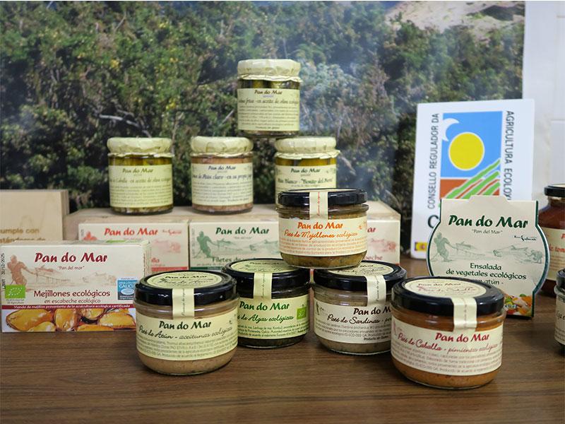 productos ecológicos de Galicia CRAEGA Pan do Mar