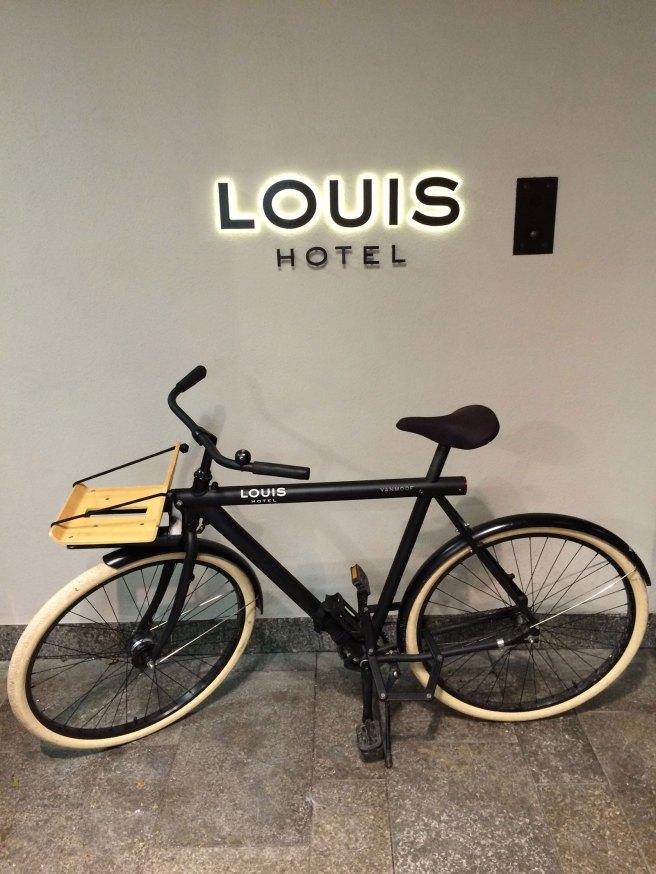 LOUIS Hotel Fahrrad