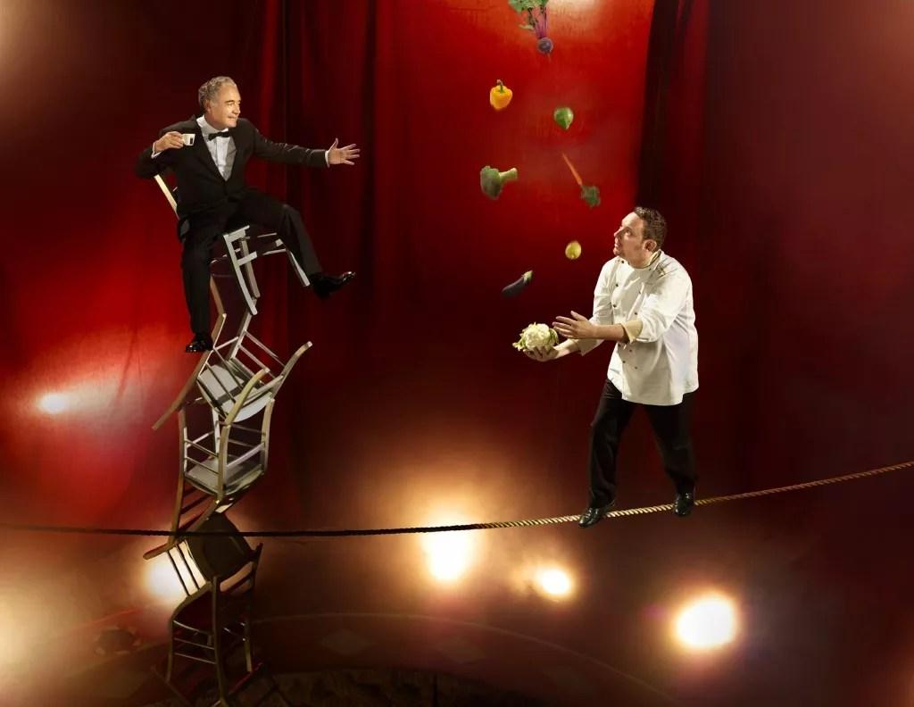 HEART IBIZA- Hermanos Adrià con El Cirque du Soleil