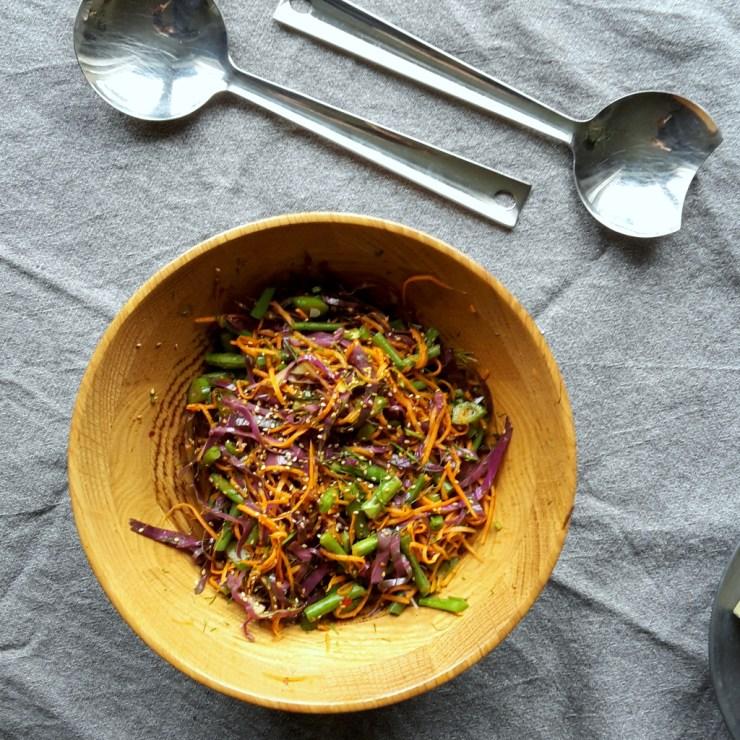 Asiatisk salat 2