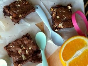 Glutenfri chokolade brownies