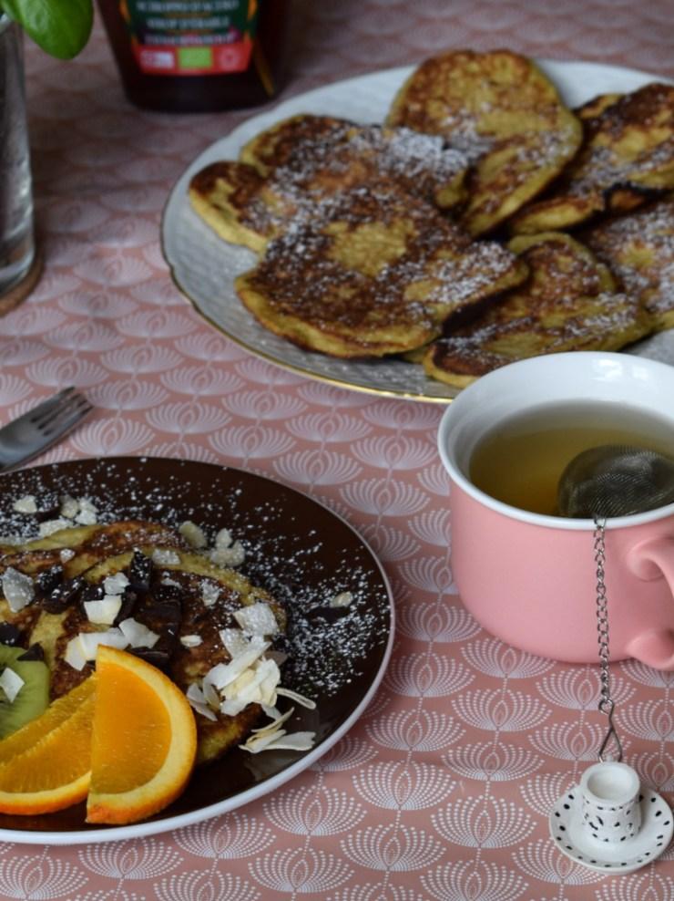 glutenfri, mælkefri, bananpandekager, uden tilsat sukker