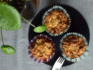 Glutenfri rabarbermuffins