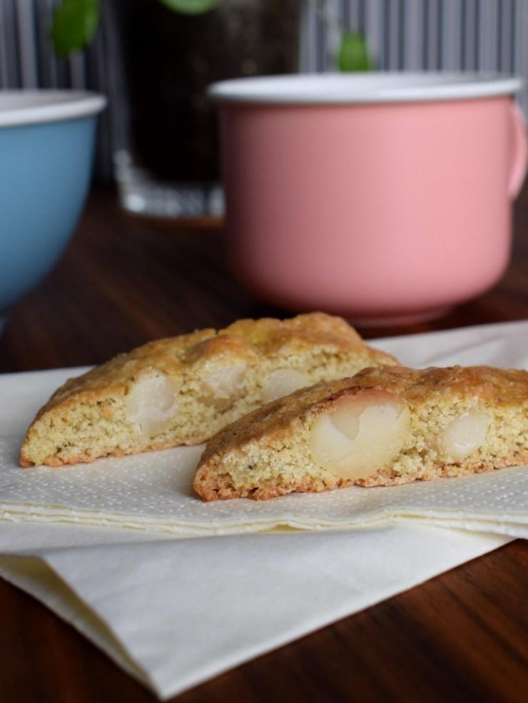 Glutenfri, Biscotti a la macadamia, Macadamia Nødder, Low fodmap, Gastroequation