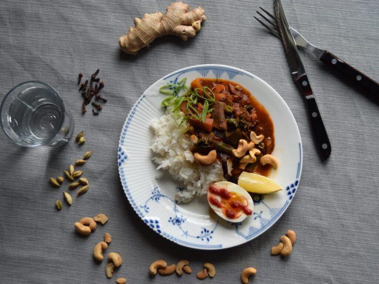 søndags curry