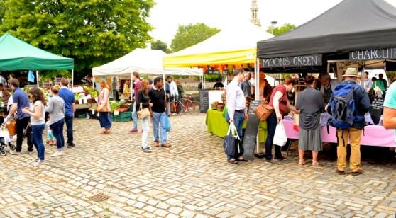 wapping market courtyard