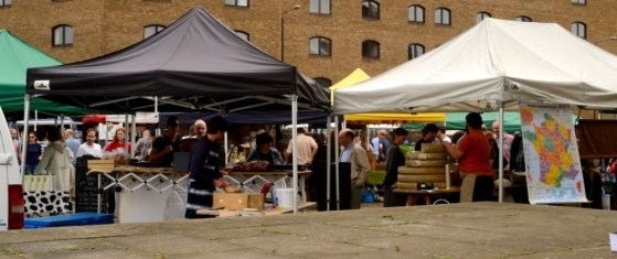 wapping market tents