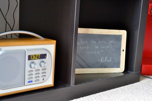 DAB Digital Radio, Inspirational quote, RuPaul, Interiors