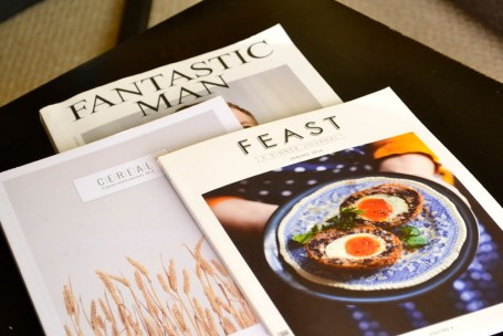 magazines, feat, donal skehan, cereal, cereal magazine, fantastic man, living room table, coffee table, publications