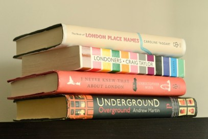 london, books about london, books, underground, the tube