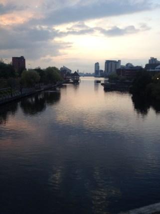 Salford Media City view