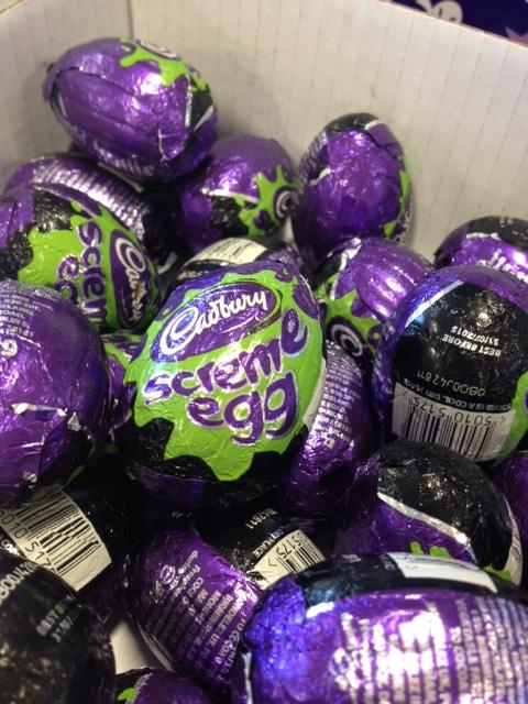 cadburys scream egg