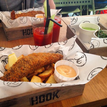 hook camden town fish and chips 2