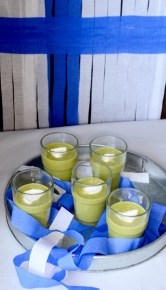 pea soup recipe, pea soup finland, eurovision finland, eurovision party recipe, eurovision viewing party, pea soup cucumber, pea soup