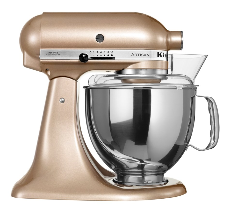 kitchenaid stand mixer, gold nectar kitchenaid, house of fraser kitchenaid, christmas kitchenaid